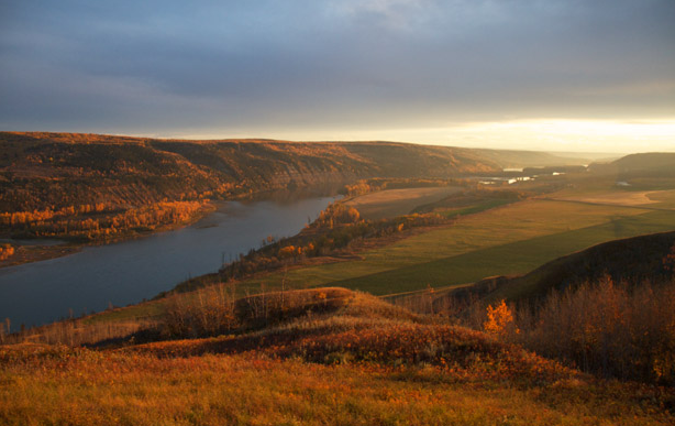 Peace River Valley (Photo credit: Damien Gillis)